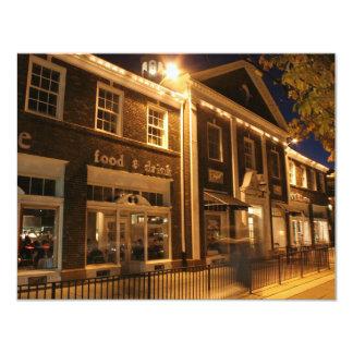 Shaker Square at Night - 1 4.25x5.5 Paper Invitation Card