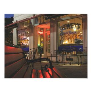 Shaker Square at Night - 2 4.25x5.5 Paper Invitation Card