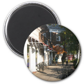 Shaker Square by Day - 3 2 Inch Round Magnet