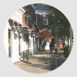 Shaker Square by Day - 3 Classic Round Sticker