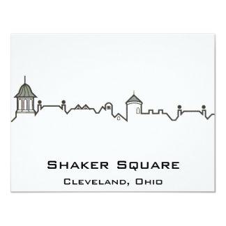 Shaker Square 4.25x5.5 Paper Invitation Card