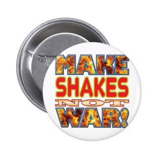 Shakes Make X 6 Cm Round Badge