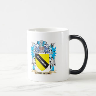 Shakespear Coat of Arms - Family Crest 11 Oz Magic Heat Color-Changing Coffee Mug