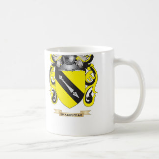 Shakespear Coat of Arms (Family Crest) Classic White Coffee Mug
