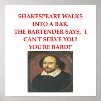 shakespear joke posters