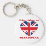 Shakespear Llavero Personalizado
