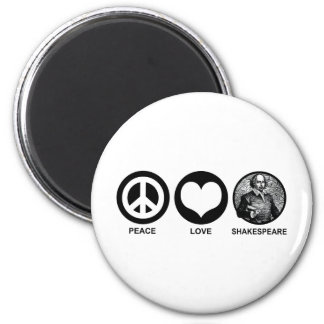 Shakespeare 2 Inch Round Magnet