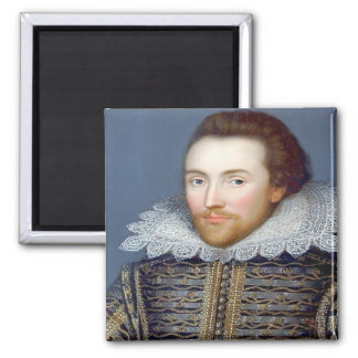 Shakespeare 2 Inch Square Magnet