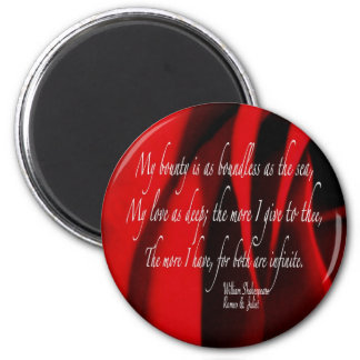 SHAKESPEARE 2 MAGNET