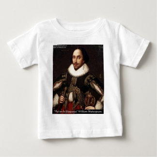 Shakespeare Action Eloquence Quote Gifts & Tees