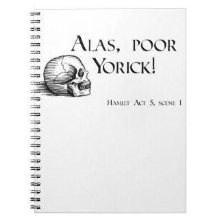 Shakespeare Alas Poor Yorick Journal