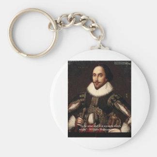 """Shakespeare """"amor/pudo"""" citar los regalos y carda  llaveros personalizados"""
