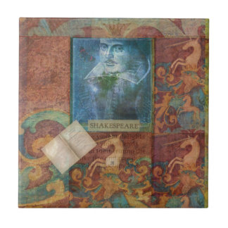 Shakespeare art customize with favorite quotation tiles