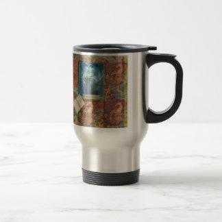 Shakespeare art customize with favorite quotation travel mug