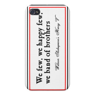 Shakespeare: Band of Brothers iPhone 4 Cover