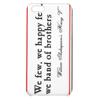 Shakespeare: Band of Brothers iPhone 5C Cover