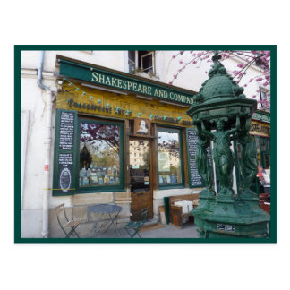 Shakespeare Bookstore (Paris) Postcard