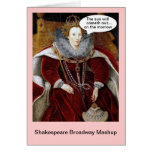 Shakespeare Broadway Mashup - Annie Tarjeta De Felicitación