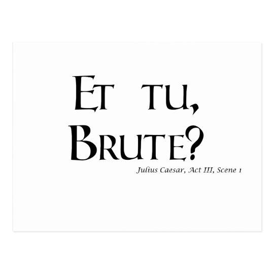 julius caesar betrayal quotes