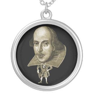 Shakespeare Caricature Necklace