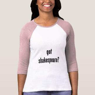 ¿shakespeare conseguido? playera