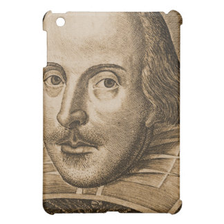 Shakespeare Droeshout Engraving iPad Mini Cases