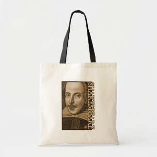 Shakespeare Droeshout Engravings Tote Bags