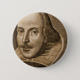 Shakespeare Droeshout Engravings Button