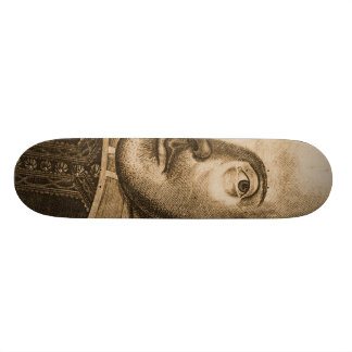 Shakespeare Droeshout Engravings Skateboard