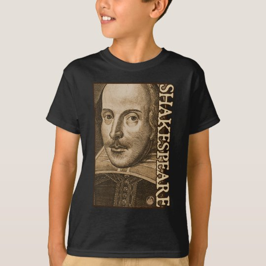 Shakespeare Droeshout Engravings T-Shirt