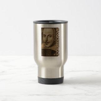 Shakespeare Droeshout Engravings Travel Mug