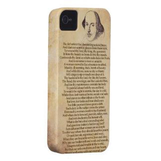 Shakespeare en su iPhone - domesticación de la Case-Mate iPhone 4 Cobertura