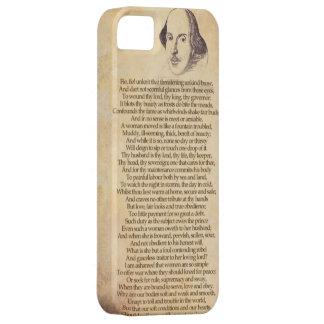 Shakespeare en su iPhone - domesticación de la Funda Para iPhone 5 Barely There