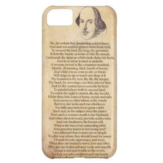Shakespeare en su iPhone - domesticación de la Funda Para iPhone 5C