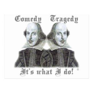 ¡Shakespeare - es lo que lo hago! Postal