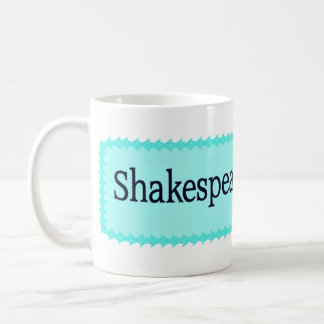 Shakespeare es mi FB Taza Básica Blanca