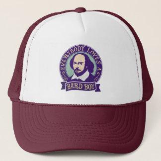 Shakespeare Everybody Loves a Bard Boy Trucker Hat