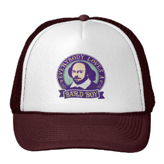 Shakespeare Everybody Loves a Bard Boy Trucker Hat