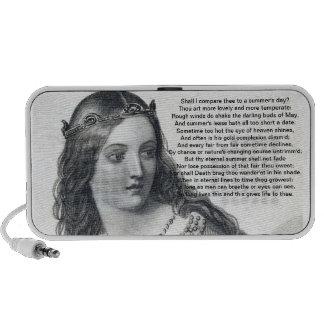 Shakespeare Fairy Travel Speaker