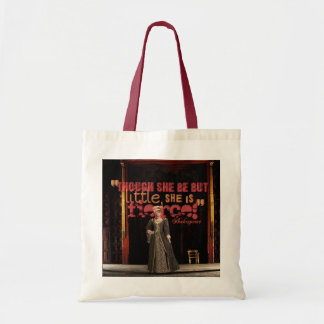 Shakespeare Fierce Quote Budget Tote Bag