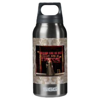 Shakespeare Fierce Quote Insulated Water Bottle