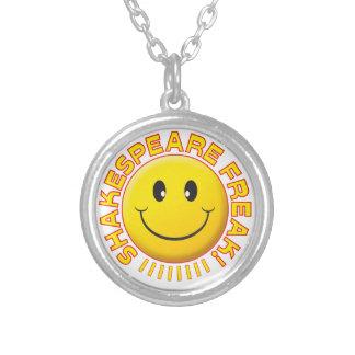 Shakespeare Freak Smile Custom Necklace