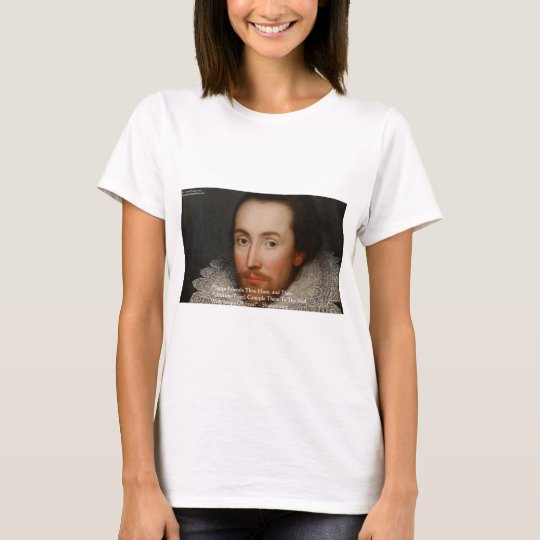 """Shakespeare """"Friends"""" Wisdom Quote Gifts & Tees"""