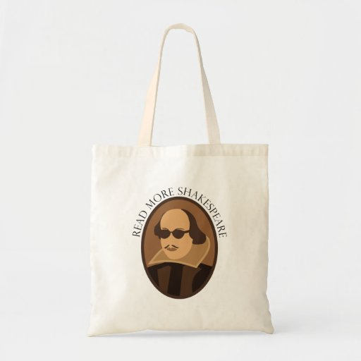 Shakespeare Gift Budget Tote Bag