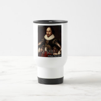 """Shakespeare """"Give Infinitely"""" Love Quote Gifts Etc Travel Mug"""
