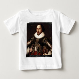 "Shakespeare ""Goodnight, Parting"" Love Quote Gifts Baby T-Shirt"