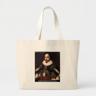 """Shakespeare """"Goodnight, Parting"""" Love Quote Gifts Large Tote Bag"""
