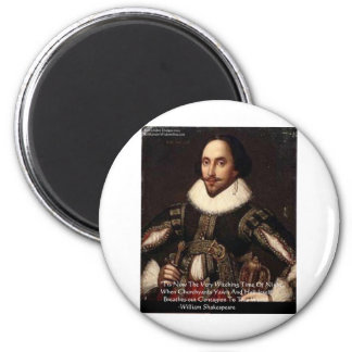 """Shakespeare Halloween """"Hell Contagion"""" Quote Gifts Refrigerator Magnets"""