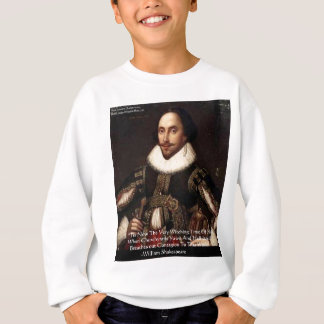 "Shakespeare Halloween ""Hell Contagion"" Quote Gifts Sweatshirt"