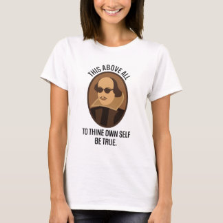 Shakespeare Hamlet Quote Gift T-Shirt